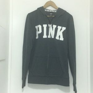 Pink Victoria's secret grey sweater size small